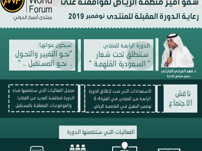 انفوجرافيك   مجلس إدارة منتدى أسبار الدولي يشكر سمو أمير منطقة الرياض لموافقته على رعاية الدورة المقبلة نوفمبر 2019